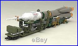 1/150 Plastic Model Soyuz Rocket + Carrier Train 1/150 Scale PS Assembled