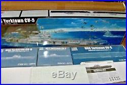 1/200 TRUMPETER MODELS USS Yorktown CV-5 Aircraft Carrier NEW IN BOX