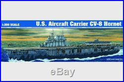 1/350 Model 05601 Scale U. S. Aircraft Carrier CV-8 Hornet Kit Warship Trumpeter