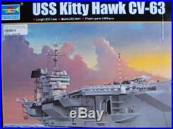 1/350 Trumpeter USS Kitty Hawk CV-63 Aircraft Carrier No. 05619
