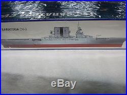 1/350 Uss Saratoga Cv-3 Aircraft Carrier Ship Model Kit