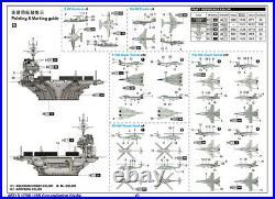 1/700 Trumpeter USS Constellation CV-64 Aircraft Carrier