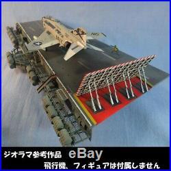 1/72 USNAVY Aircraft Carrier CVN No. 4 Catapult Deck & Catwalk Diorama model JP