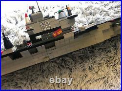 1000 +pcs Mega Bloks ProBuilder Master Series USS Nimitz Aircraft Carrier / Lego