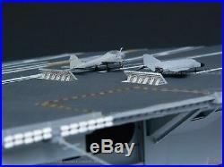 1350 U. S. CVN-68 Nimitz Aircraft Carrier 1975 version model kit by Trumpeter