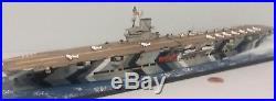 1700 Scale Built Plastic Model HMS Illustrious British WWII Aircraft Carrier