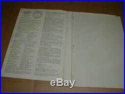 1962 USS Enterprise CVN-65 Nuclear Navy Cruisebook Aircraft Carrier + 2 book lot