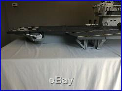 1985 G. I. JOE USS FLAGG AIRCRAFT CARRIER 98% Complete! Original -SUPER RARE