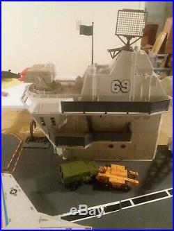 1985 G. I. JOE USS FLAGG AIRCRAFT CARRIER 99% Complete