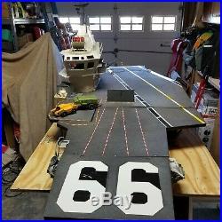 1985 G. I. Joe Uss Flagg Aircraft Carrier -super Rare