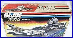 1985 GI Joe U. S. S. Flagg Aircraft Carrier MISB Toy Hunter