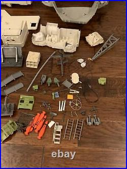 1985 Vintage GI Joe USS Flagg Aircraft Carrier 93% Complete withlist of missing