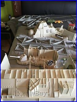 1985 Vintage GI Joe USS Flagg Aircraft Carrier G. I. Over 95% Complete Parts Lot