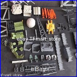1985 Vintage GI Joe USS Flagg Aircraft Carrier Playset G. I. Incomplete Parts Lot