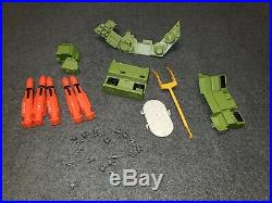 1985 g. I joe action figures USS Flagg aircraft carrier about 93% complete