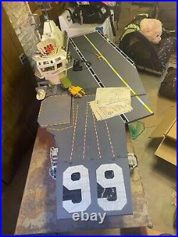 1985 gi joe uss flagg aircraft carrier. 100% complete with paperwork and mic