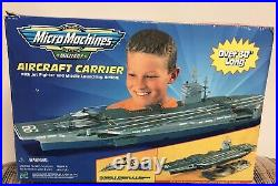 1999 Very Rare Galoob Micro Machines Military Aircraft Carrier
