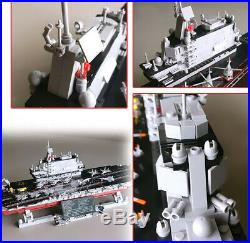 2126PCS Military Army Aircraft Carrier Liaoning Building Block Model Toy New Set