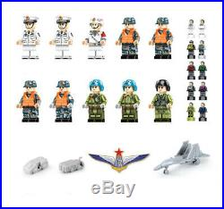 3010PCS Army Military PLA Navy Shandong Aircraft Carrier Building Blocks Model