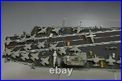 Abraham Lincoln Aircraft Carrier War Cv-72 Die Cast Metal Ship Replica Model