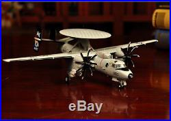 Advanced Alloy 172 E2C Hawkeye Carrier Warning Helicopter Model Military Gifts