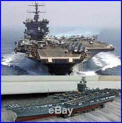 Aircraft Carrier Model Kit 1/350 for adults ship 80501 models enterprise BEST