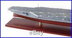 Aircraft Carrier USN Theodore Roosevelt CVN-71 Built 31 Wooden Model Assembled