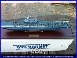 Aircraft Carrier USS Hornet 1500 Model WW2 Tokyo Raid Midway