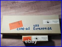 Argos USS Enterprise CVN-65 Aircraft Carrier 1964 Op. Sea Orbit 11250 Model #68