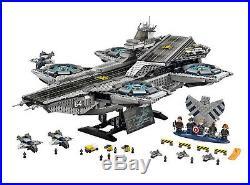 Avengers Shield Aircraft Carrier Building bricks Blocks toys 3057pcs No Box