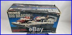 Bandai GoDaikin Bio Dragon In Box Space Ship Aircraft Carrier Toy