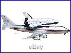 Boeing 747 NASA Shuttle Carrier Aircraft Mahogany Wood Desktop Airplane Model
