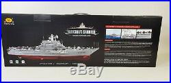 Brand New Upgraded 2.4g Monster Rc Model Aircraft Carrier Battle War Ship Boat