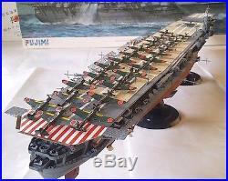 Built 1/350 WW 2 IJN Japanese Aircraft carrier Shokaku Fujimi