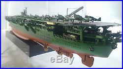 Built 1/500 WW2 IJN Aircraft carrier Zuikaku Battle of Leyte