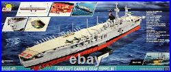 COBI Graf Zeppelin (3086) 3130 elem. WWII German aircraft carrier 1300