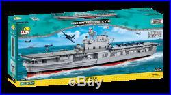 COBI LIMITED EDITION Aircraft Carrier USS Enterprise CV-6 SET# 4816 (2530 Pcs.)