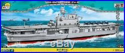 COBI USS Enterprise (CV-6) / 4815 / 2510 WWII Small Army US aircraft carrier