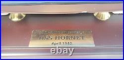 Danbury Mint USS HORNET CV8 Aircraft Carrier Tokyo Raider 1150 Scale WWII Model
