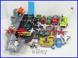 Disney Pixar Planes Diecast Plastic Lot Aircraft Carrier Flysenhower Playset