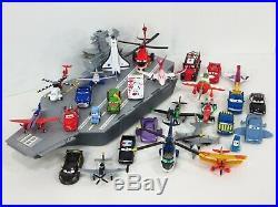 Disney Pixar Planes Fire & Rescue Aircraft Carrier Vehicle Set Flysenhower Ship