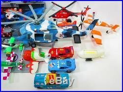 Disney Planes Aircraft Carrier Diecast Plastic USS Flysenhower Ship Playset Lot
