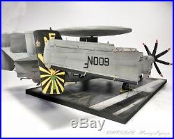 E-2C Hawkeye + Aircraft carrier Deck set on 148