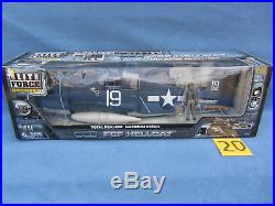 Elite Force US NAVY F6-F Hellcat Carrier Fighter NEW MINT RARE 1/18