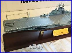 Franklin Mint U. S. S. Yorktown CV-10 Aircraft Carrier BRAND NEW