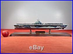 Franklin Mint USS YORKTOWN WWII Essex CV-10 Aircraft Carrier Model Scale 1/350