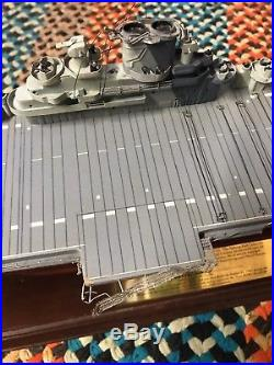Franklin Mint USS Yorktown CV-10 Signature Edition Aircraft Carrier WWII Condit