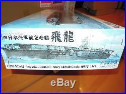 Fujimi 1/350 IJN Aircraft Carrier Hiryu Model Ship Kit
