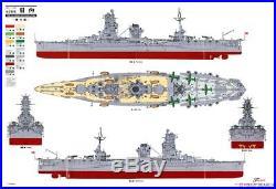 Fujimi 1/350 Imperial Japanese Navy Aircraft Carrier-Battleship Hyuga 1944