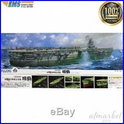 Fujimi model Japanese navy carrier aircraft Zuzuru 1/350 Japan aircraft carrier